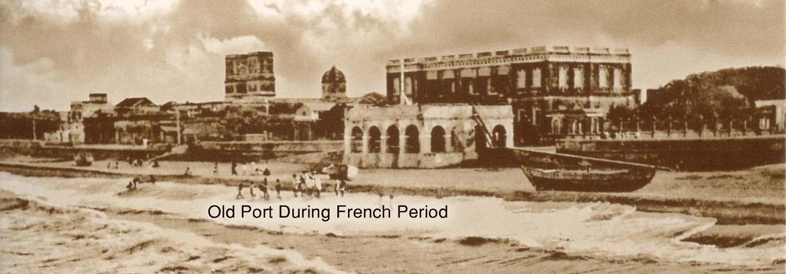 image of Old Port during French Period